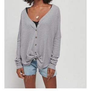 UO Out from Under JoJo oversized thermal
